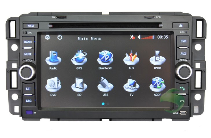 Car head unit navigation System for Buick Enclave