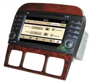 w220 aftermarket stereo dvd gps radio tv bluetooth