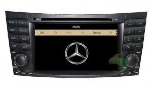 W211 dvd player head unit