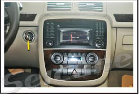 the head unit stereo