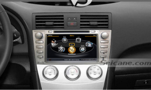 New unit after installation,dvd player navigation system of 2006-2011 Toyota Camry