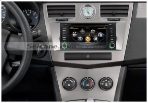 car head unit after upgrade,radio sound system with gps nav system of 2007 2008 2009 2010 Chrysler Sebring