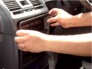 easily remove the trim panel