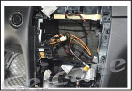 Make the plug of the car in the socket of the unit