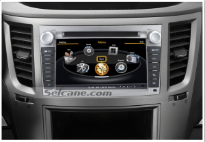 radio after installation,dvd player with sat nav audio system of 2012 2013 Subaru Outback