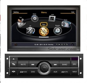 stereo autoradio after upgrade,aftermarket sat navi system dvd player of 2006-2013 Mitsubishi L200