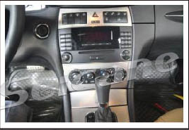 Original stereo and 6-disc CD player
