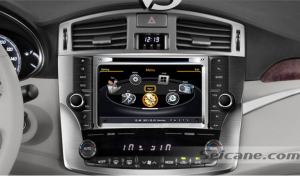 stereo autoradio after replacement,gps dvd radio bluetooth with sat nav system of 2011 2012 Toyota Avalon