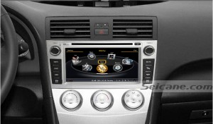 head unit after installation,dvd player of 2010 2011 2012 Toyota Verso