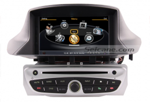 DVD gps navigation system bluetooth of 2010 2011 Renault Megane