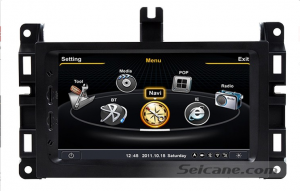 new car stereo DVD GPS navigation system of 2014 Jeep Grand Cherokee