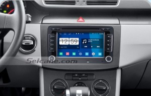 2012 2013 2014 Volkswagen Beetle car stereo after installation