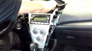2001-2008 Toyota RAV4 Radio installation step 2
