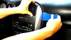 2002 2003 2004 2005 2006 Sebring convertible car stereo installation step 3