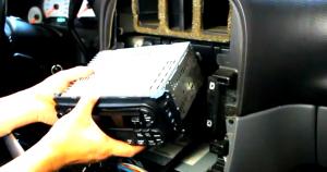 2002 2003 2004 2005 2006 Sebring convertible car stereo installation step 5