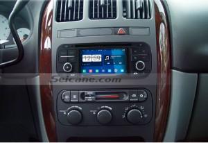 2002 2003 2004 Chrysler Dakota car stereo after installation
