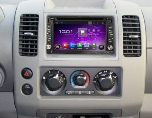 2004-2010 Nissan VERSA Radio after installation