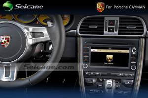 2005 2006 2007 2008 Porsche CAYMAN car stereo after installation