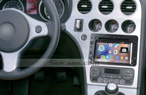 2005-2013 Alfa Romeo 159 Sportwagon Radio after installation