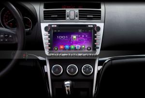 2008-2012 Mazda 6 Ultra Radio installation after installation