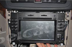 2004-2012 Mercedes Benz A Class W169 radio installation step 7