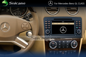 2005-2012 Mercedes-Benz GL CLASS X164 radio after installation