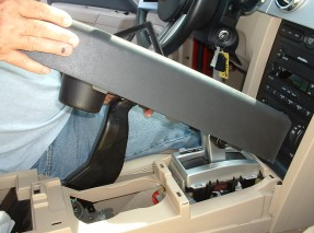 2007-2010 Ford Expedition car stereo  installation step 3
