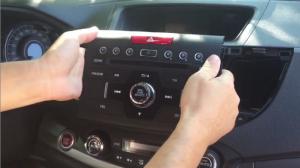 2012 2013 2014 Honda CRV radio removal step 3
