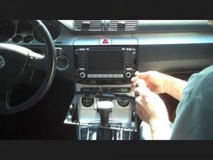 2006-2011 VW Volkswagen Cupra car stereo installation step 2