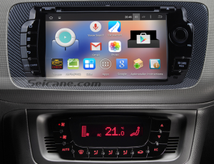 2009-2013 Seat Ibiza radio after insatllation
