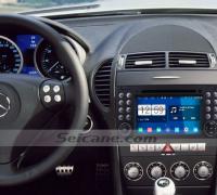 2000-2008 Mercedes Benz SLK class radio after installation