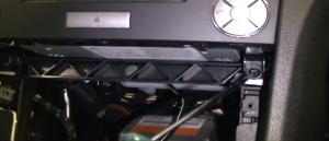 008 Mercedes Benz SLK class radio installation step 14