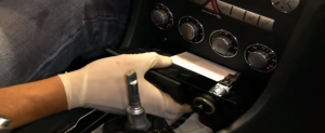2000-2008 Mercedes Benz SLK class radio installation step 7