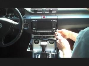 2005-2012 VW Volkswagen PASSAT head unit installation step 2