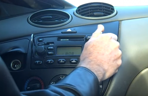 2006-2011 Ford Fusion car stereo installation step 1