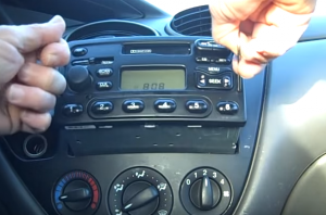 2006-2011 Ford Fusion car stereo installation step 2