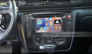 2007 2008 2009 Ford C-MAX head unit after installation