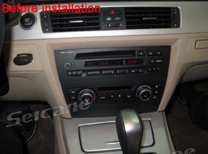 1. The original dashboard before installation