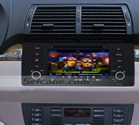 1996-2001 BMW 5 E39 Series car stereo after installation