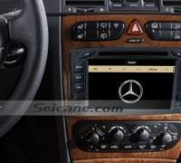2002-2005 Mercedes Benz Vaneo radio after installion