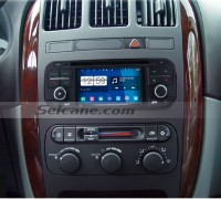 2002-2006 CHRYSLER Sebring Sedan car radio after installation
