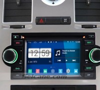 2002-2007 Jeep Grand Cherokee Liberty Patriot Wrangler car stereo after installation
