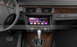 2006-2011 BMW 3 auto and manual air conditional head unit after installation