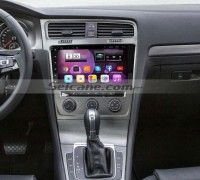 2013 2014 2015 VW Volkswagen GOLF 7 car stereo after installation