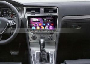 2013 2014 2015 VW Volkswagen GOLF 7 car stereo after installation