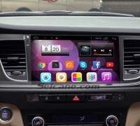 2014 2015 HYUNDAI MISTRA car stereo after installation