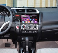 2014 2015 Honda FIT car stereo after installation