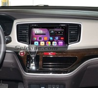 2015 Honda Odyssey car radio after installation