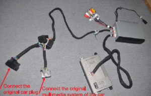 9. Connect the cable as the picture show.