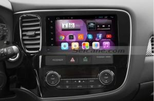 Mitsubishi Universal car stereo after installation